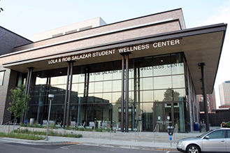 Lola and Rob Salazar Student Wellness Center Building