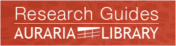 Auraria Library Research Guides