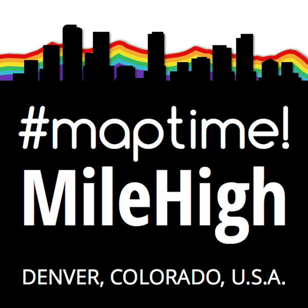 Maptime Mile High Meetup logo