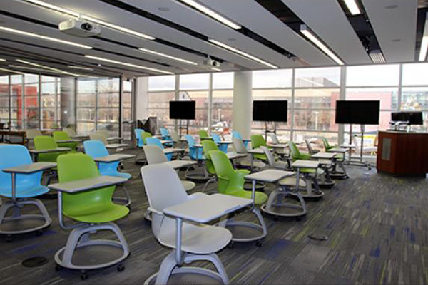 Collaborative Classroom Layout ~ Classrooms auraria library