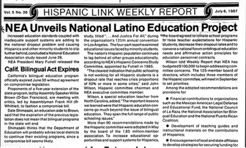 Hispanic Link Weekly Report Image