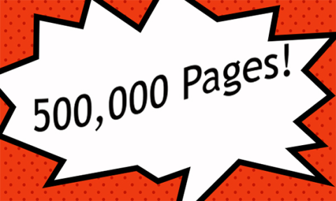 500,000 Pages!