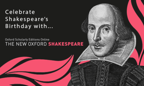 Shakespeare's Portrait to Celebrate Shakespeare's Birthday