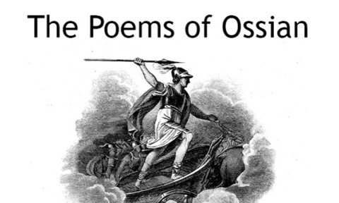 Image of frontispiece for The Poems of Ossian
