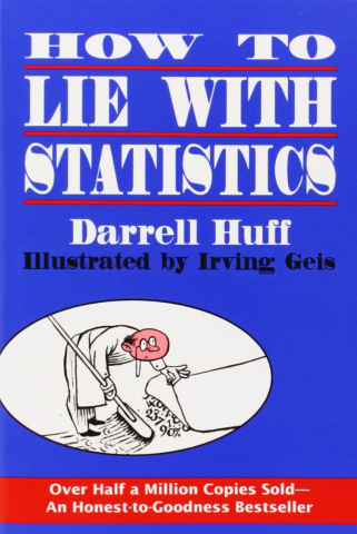 "Book cover for ""How to Lie with Statistics"""