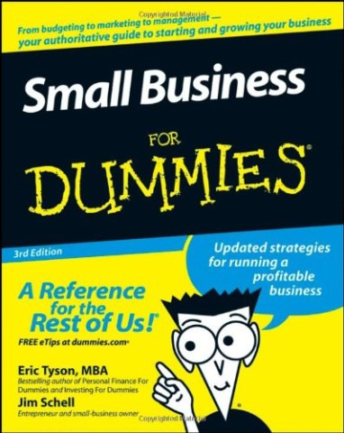 "Book cover for ""Small Business for Dummies"""