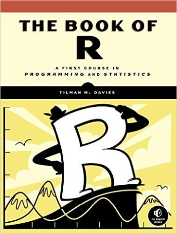 "Book cover for ""The Book of R"""