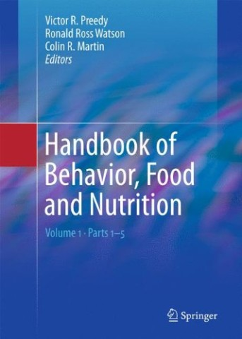 Handbook of Behavior, Food and Nutrition Cover