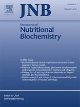 The Journal of Nutritional Biochemistry Cover