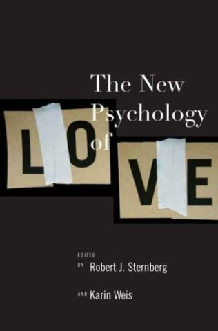 "Book cover for ""The New Psychology of Love""."