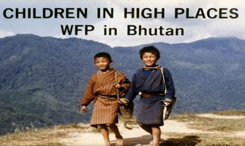 Image of two Bhutanese children