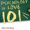 "Book cover for ""Psychology of Love 101""."